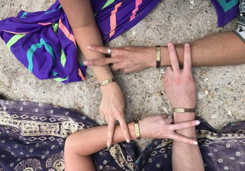 Share Compass Bracelets